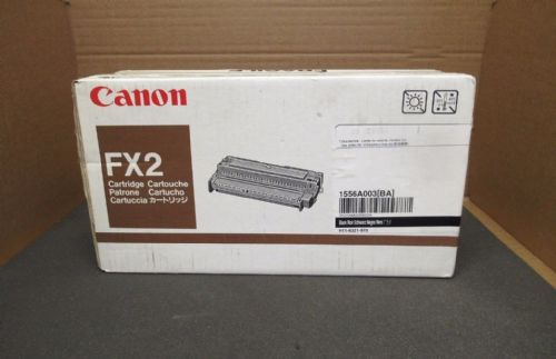 Canon FX2 Black Toner LaserJet Printer Cartridge 3000 Pages